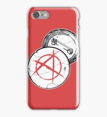Anarchy Brooch - PUNX NOT DEAD iPhone Case/Skin