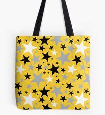 yellow stars Tote Bag