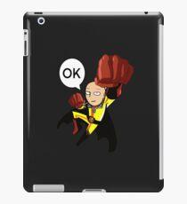saitama one punch man iPad Case/Skin
