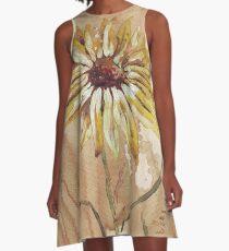 Helianthus (sunflower) A-Line Dress