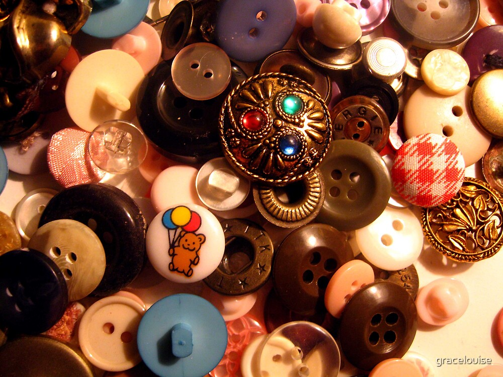 Buttons aplenty by gracelouise