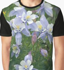 Colorado Columbine Cluster Graphic T-Shirt