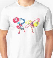 Blocky Ribbon and Spring T-Shirt