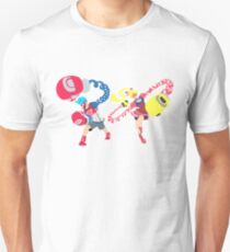 Blocky Ribbon and Spring Unisex T-Shirt