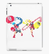 Blocky Ribbon and Spring iPad Case/Skin