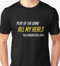 Healer Support Mains Unisex T-Shirt