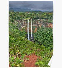 Mauritius Waterfalls Poster