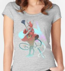 .:Ali del vento:. Women's Fitted Scoop T-Shirt