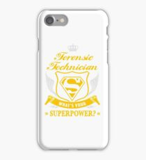 FORENSIC TECHNICIAN - LATEST DESIGN iPhone Case/Skin