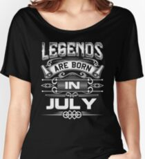 Born In July Women's Relaxed Fit T-Shirt