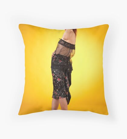 Be here in Five Throw Pillow