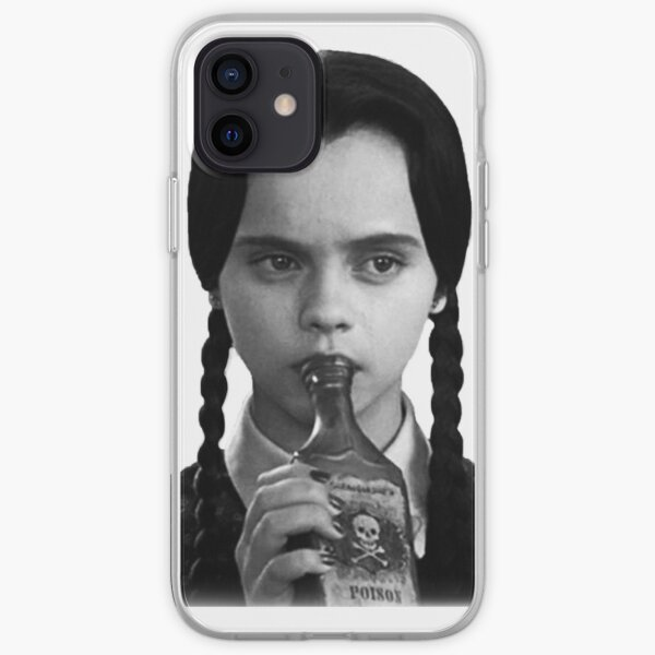 Wednesday drinks poison iPhone Soft Case