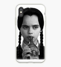 Wednesday drinks poison iPhone Case