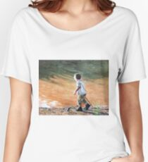 Child by the River Women's Relaxed Fit T-Shirt