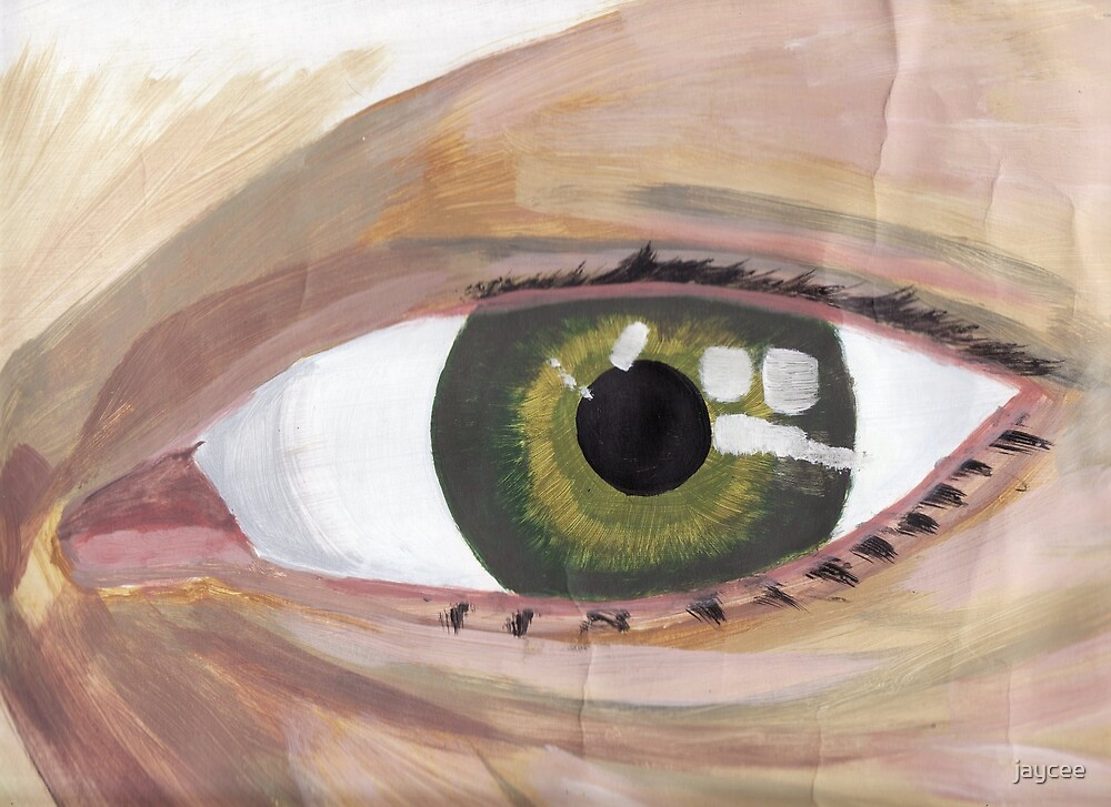 Eyefull!!! (self portrait) by jaycee