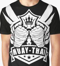 Muay Thai Wing of The Winner  -Thailand Martial Art T-shirt  Graphic T-Shirt