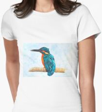 Beautiful KIngfisher Womens Fitted T-Shirt