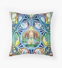 Heirophany considers Temperance Throw Pillow