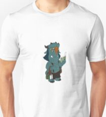 Blinky with a book Unisex T-Shirt