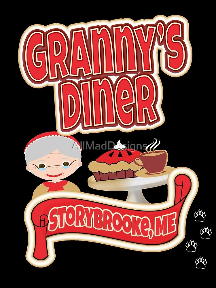 Granny's Diner by AllMadDesigns