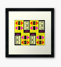 GRAPHIC #Video 01 Framed Print
