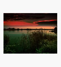 Late evening... Photographic Print