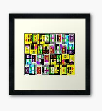 GRAPHIC #Video 03 Framed Print