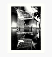 Mono Trolley Art Print