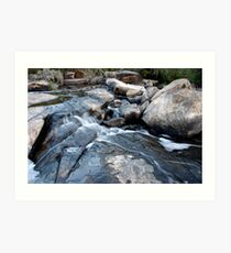 Flowing Water II Art Print