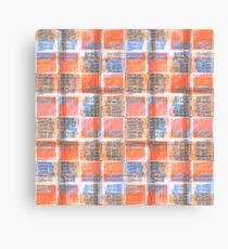 TYPE #poetry #collage Muster Canvas Print
