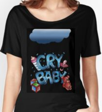 Cry Baby - Digital illustration Women's Relaxed Fit T-Shirt