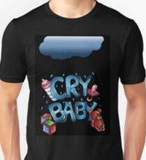 Cry Baby - Digital illustration Unisex T-Shirt