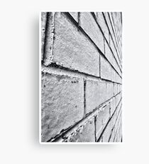 Merging Point Canvas Print