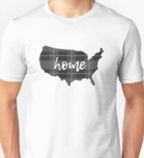 USA is home Unisex T-Shirt