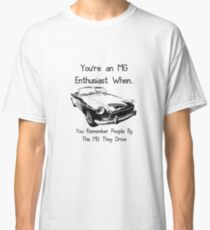 MG Enthusiast Classic T-Shirt