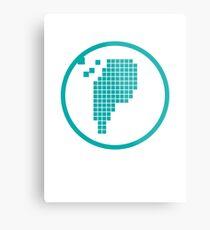 Digital Meat Logo Metal Print