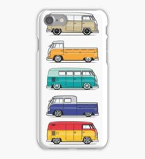 Color Buses iPhone Case/Skin