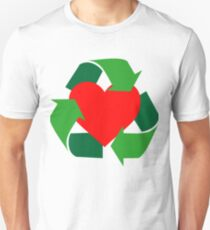 Recycle My Heart Unisex T-Shirt