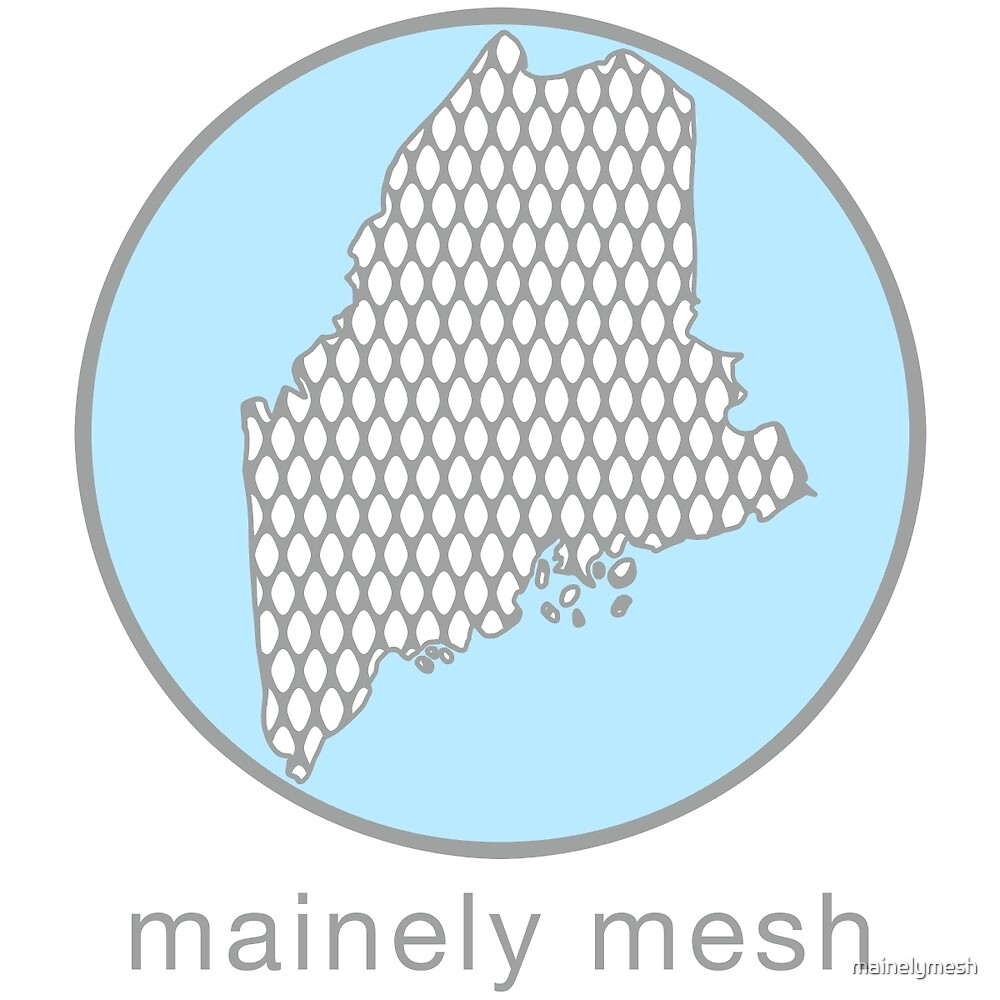 Mainely Mesh Logo by mainelymesh