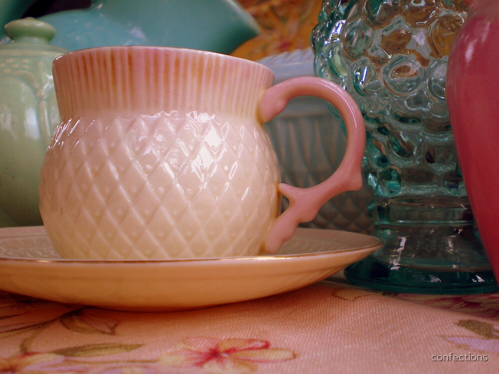 Belleek Thistle Tea Cup by confections