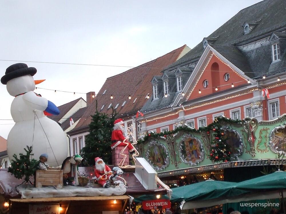 Christmas Market by wespenspinne