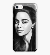 Emilia clarke iPhone Case/Skin