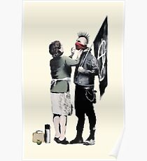 Banksy Anarchist's Mother Poster