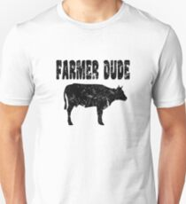 Farmer Dude Cow T Shirt Unisex T-Shirt