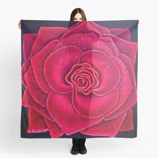 Red Rose,  rose print, red rose design Scarf