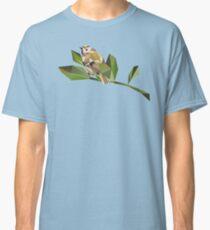Cute Geometric Goldcrest  Classic T-Shirt