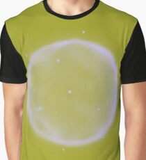 Abstract Nebulla with Galactic Cosmic Cloud 41 Circle 11 Graphic T-Shirt