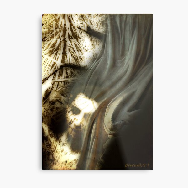 Shaped by our thoughts Metal Print