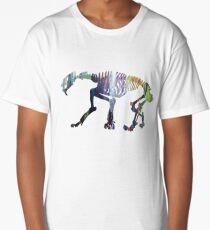 Smilodon Skeleton Long T-Shirt