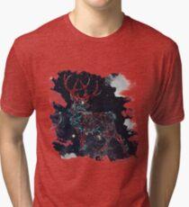 Celestial Deer Tri-blend T-Shirt